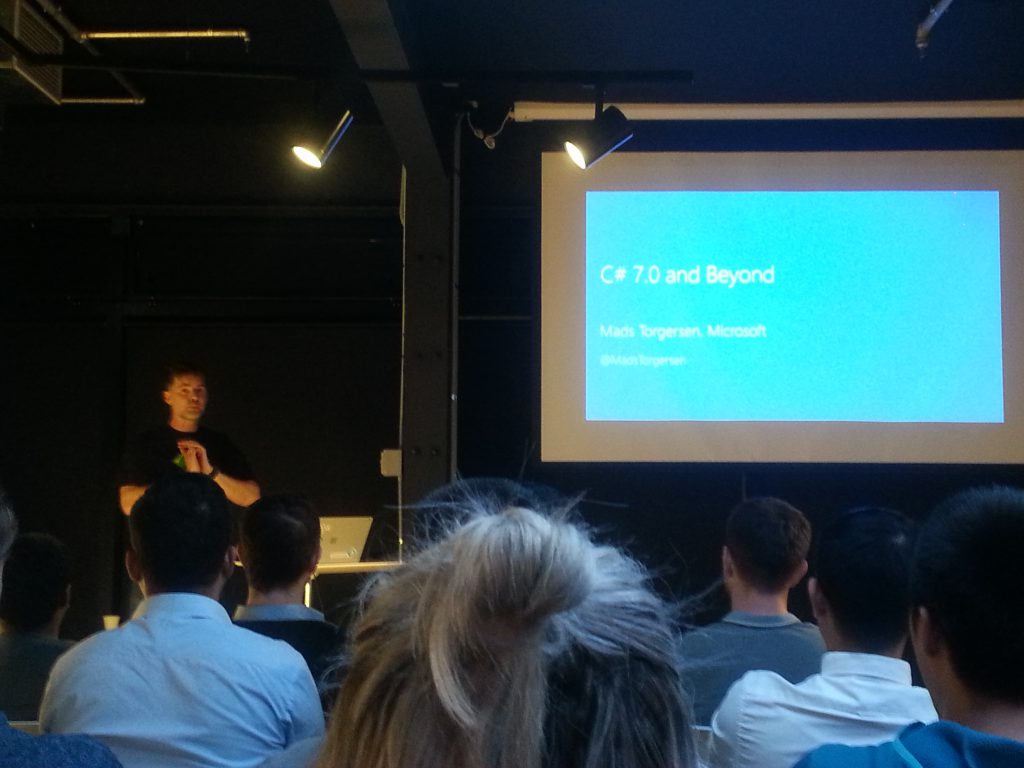 C#7 MeetUp with Mad Torgersen post image