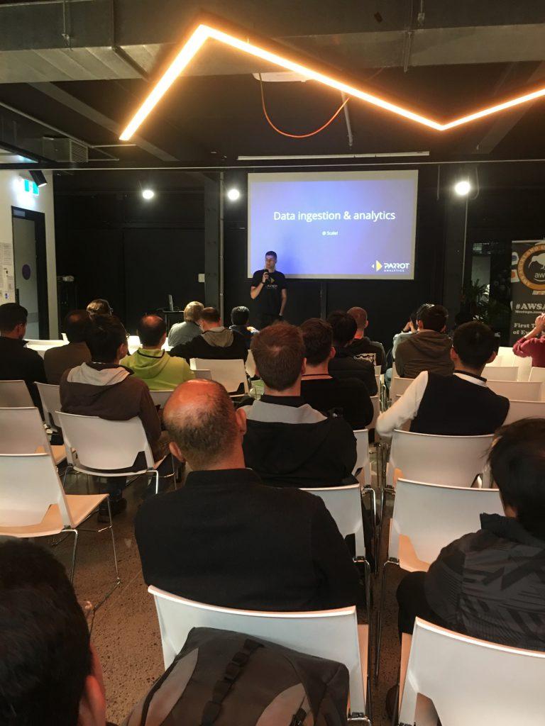 AWS Meetup attendance